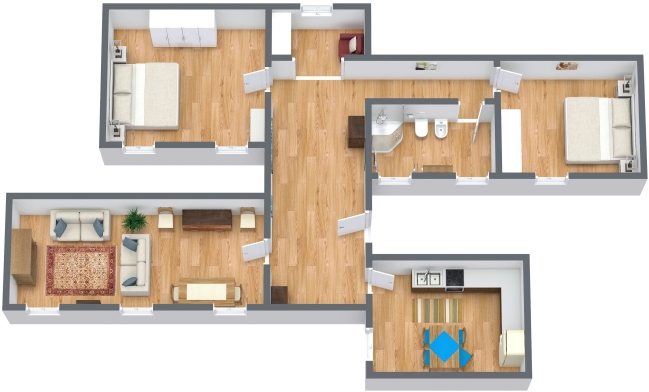 Planimetrics Apartment N.143