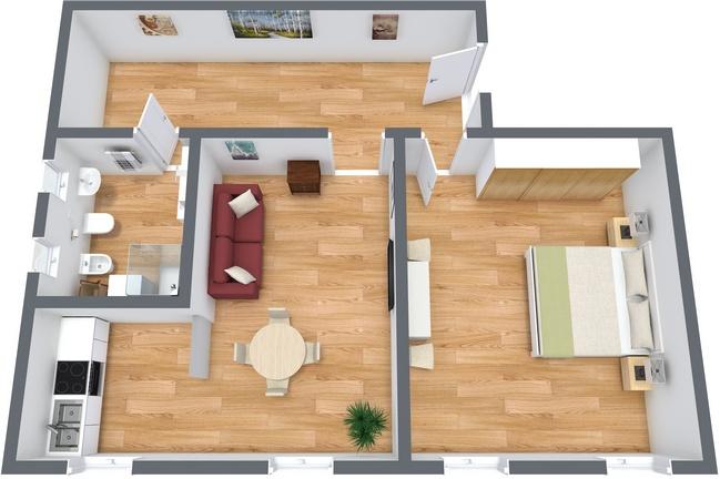 Planimetrics Apartment N.144