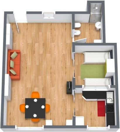 Planimetrics Apartment N.146
