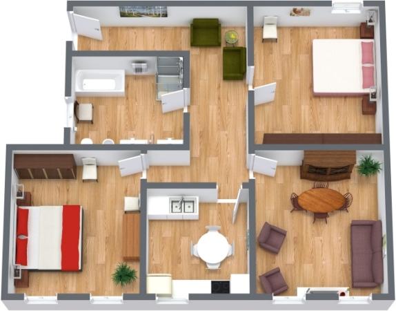 Planimetrics Apartment N.148