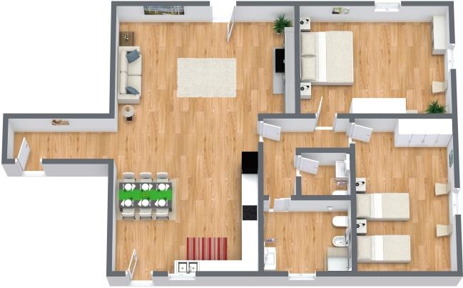 Planimetrics Apartment N.157