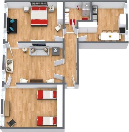 Planimetrics Apartment N.204