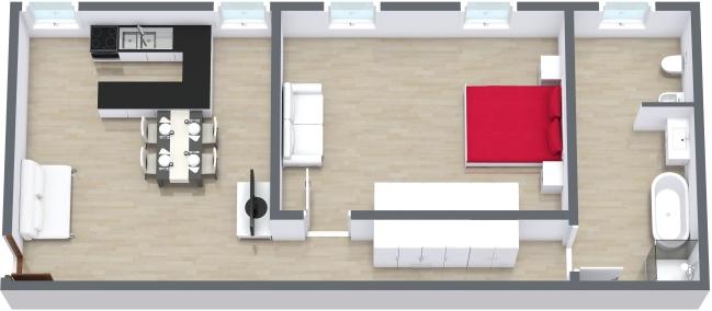 Planimetrics Apartment N.164