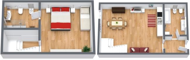 Planimetrics Apartment N.166