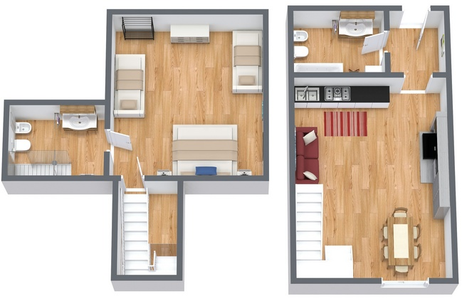 Planimetrics Apartment N.167