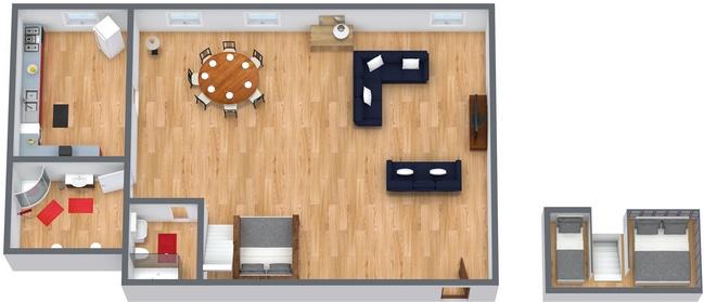 Planimetrics Apartment N.168