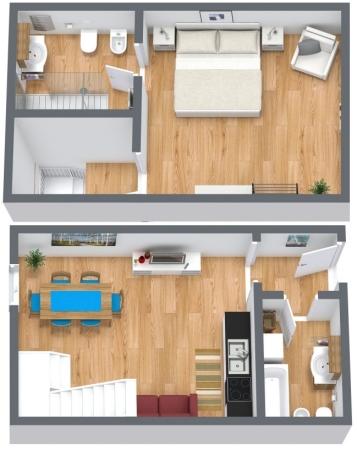 Planimetrics Apartment N.169