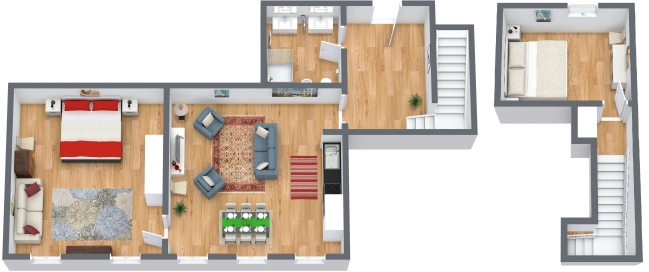 Planimetrics Apartment N.170