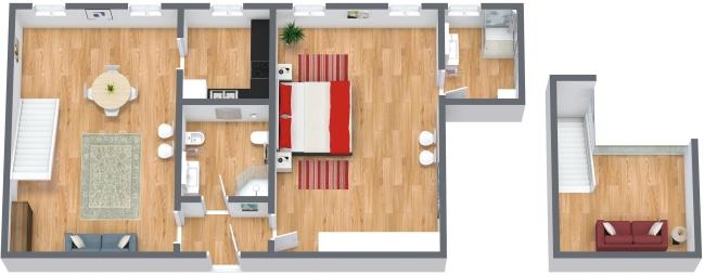 Planimetrics Apartment N.174