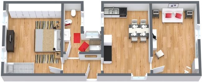 Planimetrics Apartment N.175