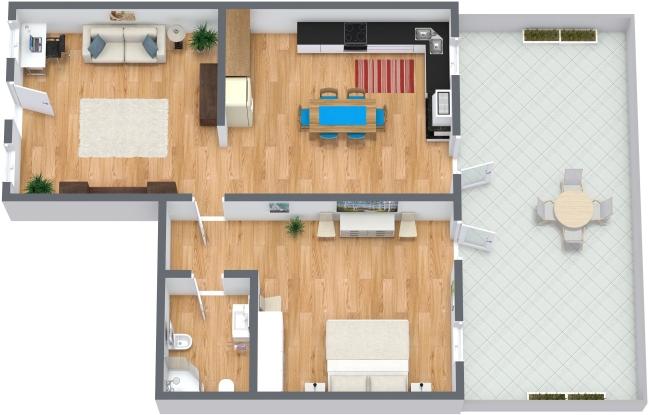 Planimetrics Apartment N.178