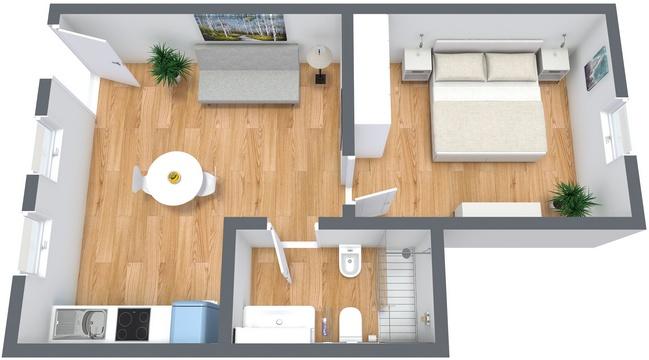 Planimetrics Apartment N.182