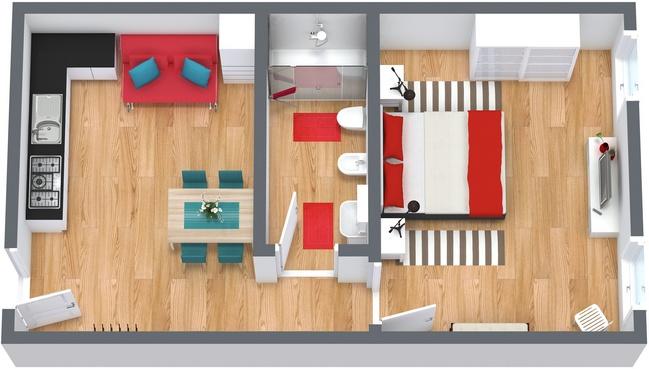 Planimetrics Apartment N.185