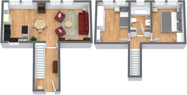 Planimetrics Apartment N.186
