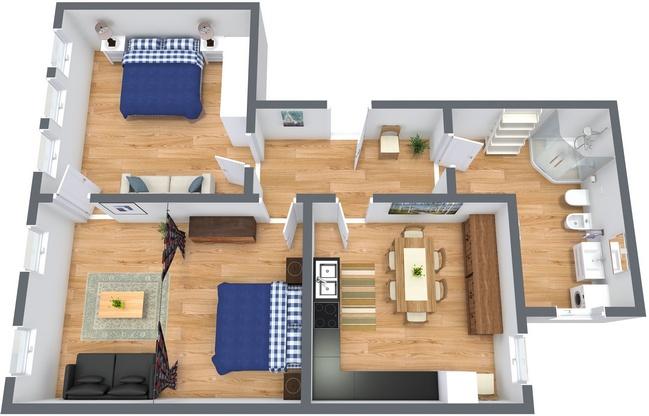 Planimetrics Apartment N.188