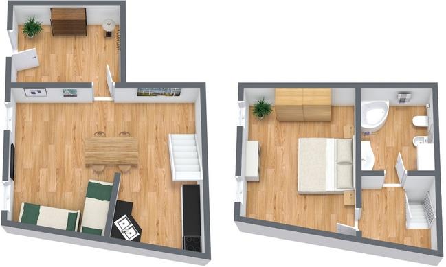 Planimetrics Apartment N.19