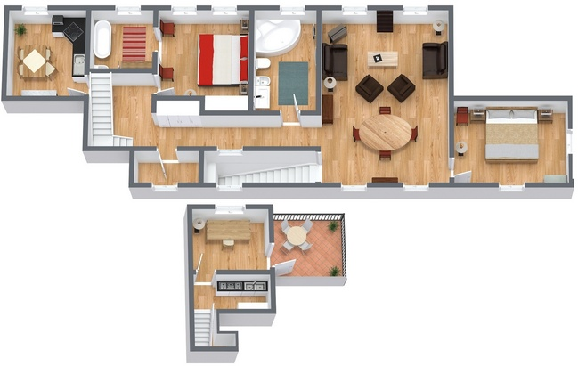 Planimetrics Apartment N.192