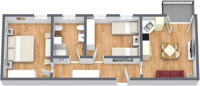 Planimetrics Apartment N.194