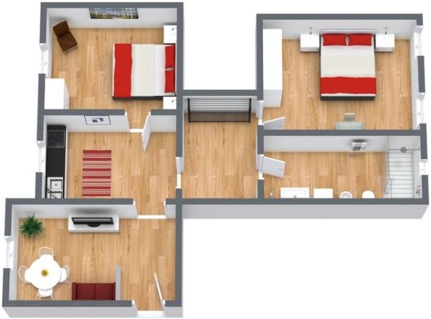 Planimetrics Apartment N.196