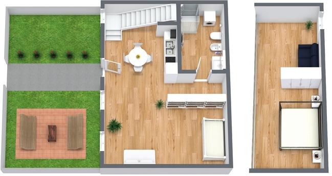 Planimetrics Apartment N.2