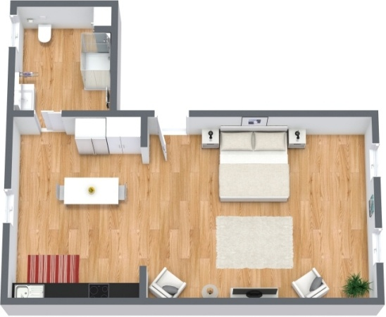 Planimetrics Apartment N.217