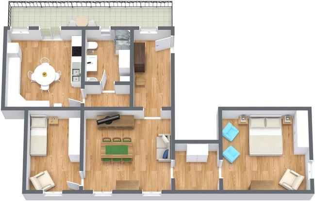 Planimetrics Apartment N.220