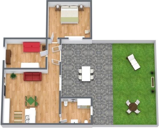 Planimetrics Apartment N.221