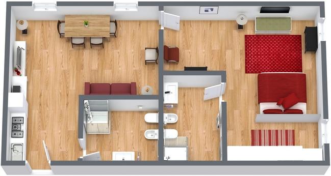 Planimetrics Apartment N.223