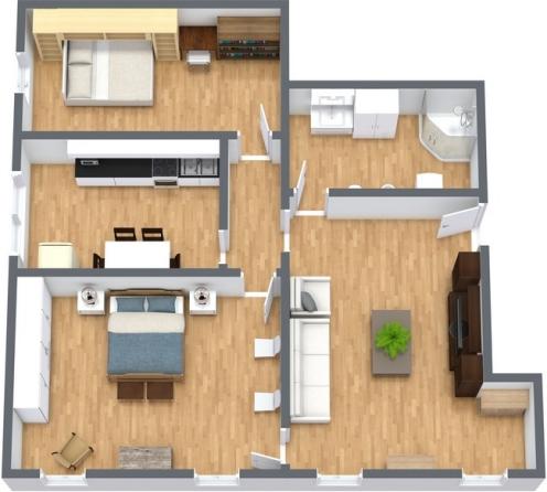 Planimetrics Apartment N.228