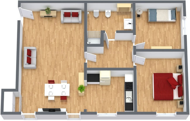 Planimetrics Apartment N.234