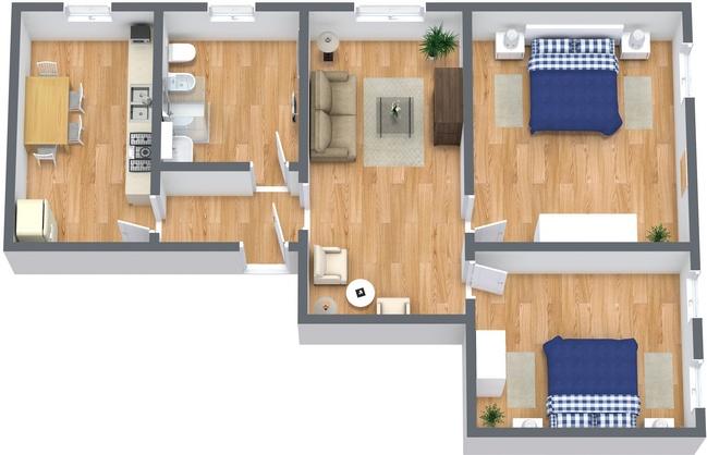 Planimetrics Apartment N.237