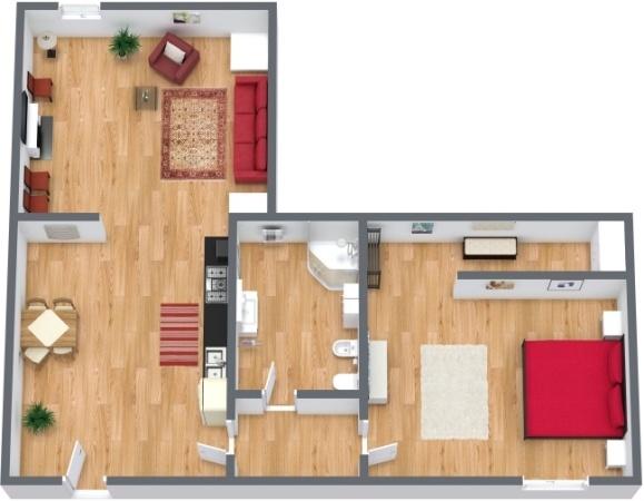 Planimetrics Apartment N.239