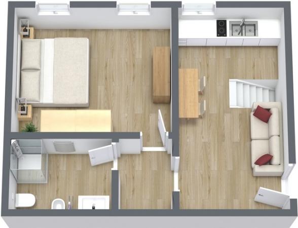 Planimetrics Apartment N.24