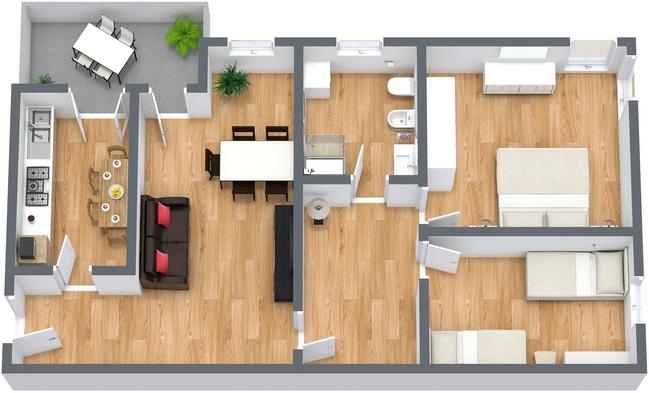 Planimetrics Apartment N.240