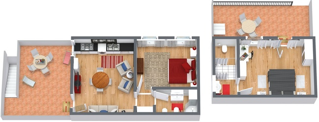 Planimetrics Apartment N.241