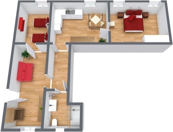 Planimetrics Apartment N.242