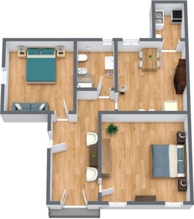 Planimetrics Apartment N.243