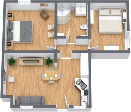 Planimetrics Apartment N.244