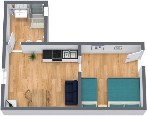 Planimetrics Apartment N.246