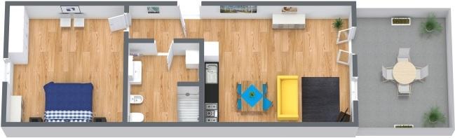 Planimetrics Apartment N.247