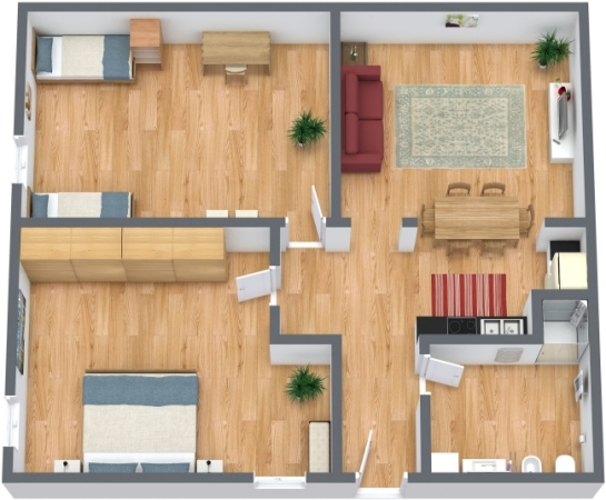 Planimetrics Apartment N.249