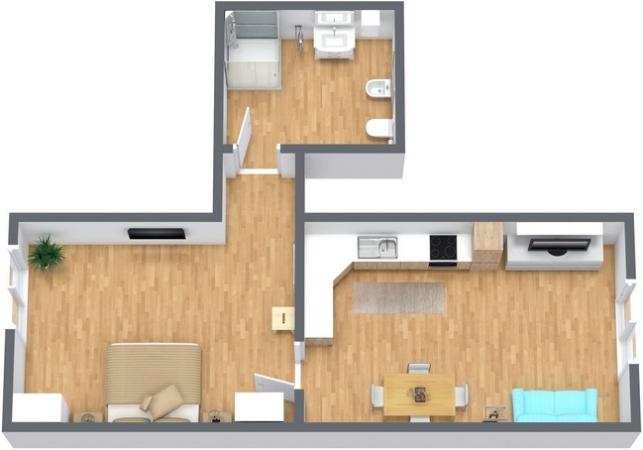 Planimetrics Apartment N.265