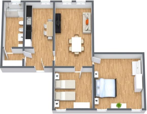 Planimetrics Apartment N.266