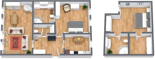 Planimetrics Apartment N.271