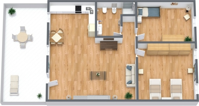 Planimetrics Apartment N.295