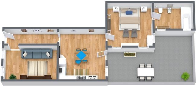 Planimetrics Apartment N.274