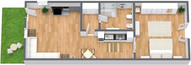 Planimetrics Apartment N.281
