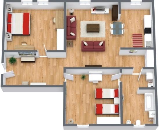 Planimetrics Apartment N.285