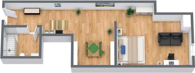Planimetrics Apartment N.286