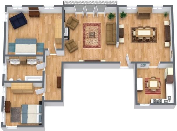Planimetrics Apartment N.289